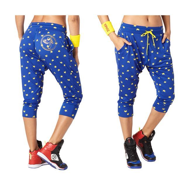 Zumba Power Crop Harem Pants