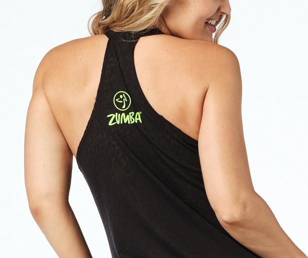 Zumba Wild High Neck Tank