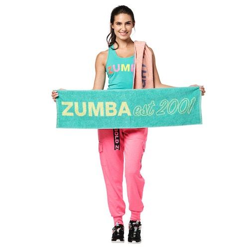 Bright Bold Zumba Fitness Towels 2 PK