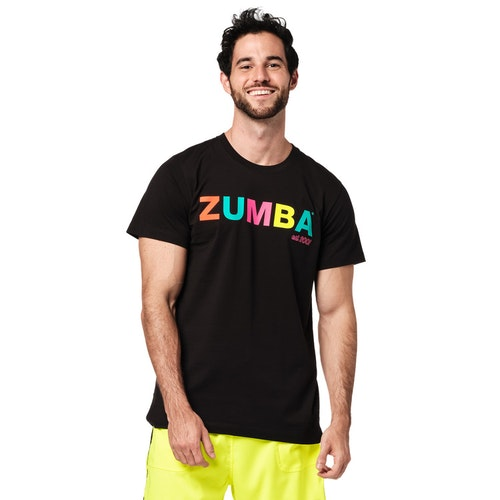 Bright Bold Zumba Tee