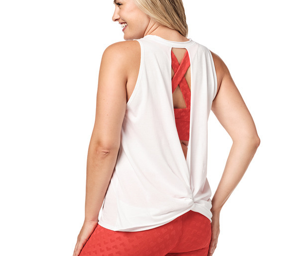 Zumba Lover Open Back Tank