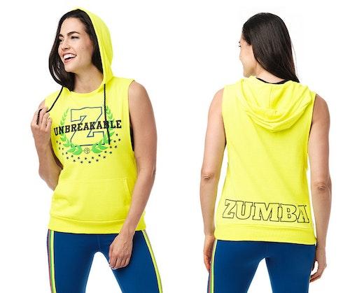 Zumba Unstoppable Sleeveless Hoodie