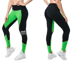Team Zumba High Waisted Ankle Leggings