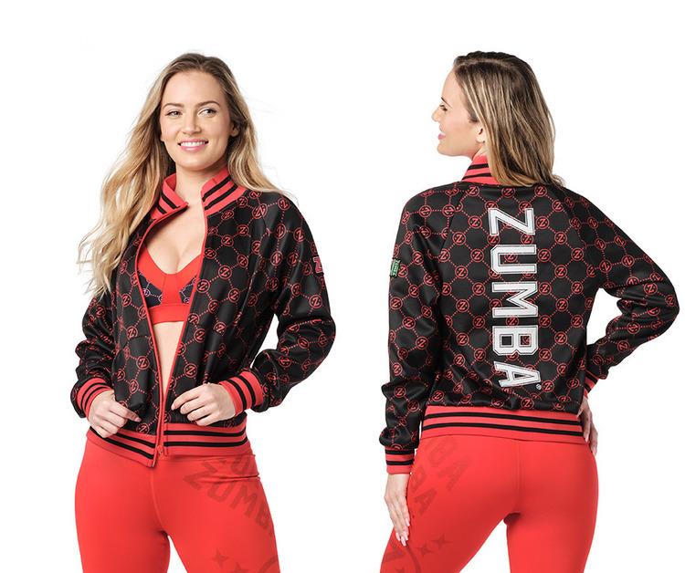 Zumba Style Zip-Up Jacket
