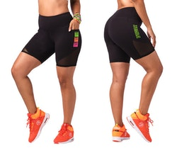Zumba Happy Biker Shorts