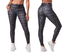 Dance In Color High Waisted Ankle Leggings
