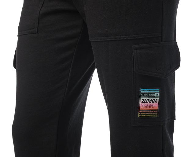 Bright Bold Zumba Cargo Sweatpants