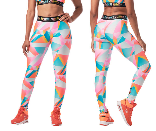 Color Your Dance Floor Ankle Leggings