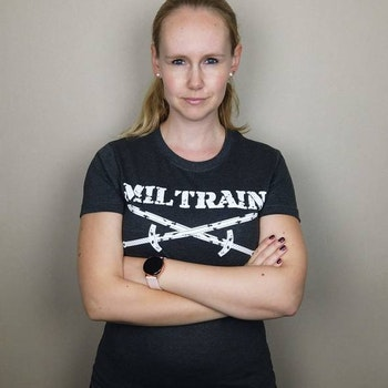 T-Shirt Miltrain Dammodell