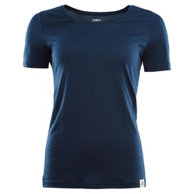 Aclima AS T-shirt LightWool T-shirt,  Woman -Insignia Blue