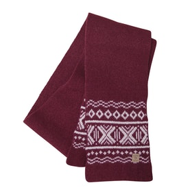 Ivanhoe Halsduk Aske scarf Rumba Red