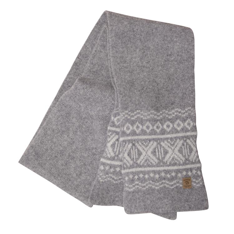 Ivanhoe Halsduk Aske scarf Grey Marl
