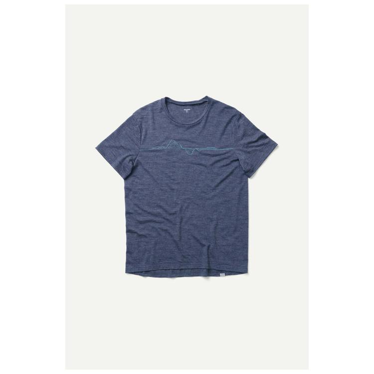 Houdini T-shirt M's Activist Message Tee Bucket Blue