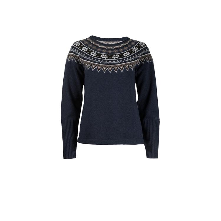 Skhoop Tröja Scandinavian Sweater  Navy
