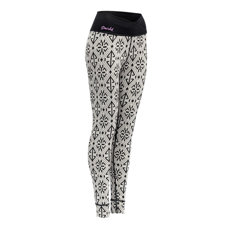 Devold Leggings Liadalsnipa Women Long Johns Raw white