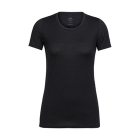 Icebreaker T-shirt Wmns Tech Lite SS Low Crewe Black