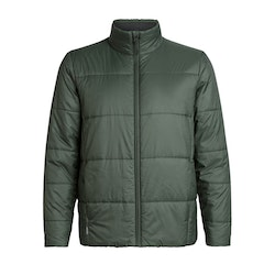 Icebreaker Jacka Mens Collingwood Jacket FORESTWOOD