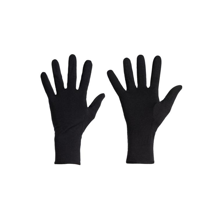 Icebreaker Handskar Unisex 260 Tech Glove Liner Black
