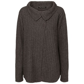 Two Danes Kofta Yachi Cardigan Dark Grey Mel
