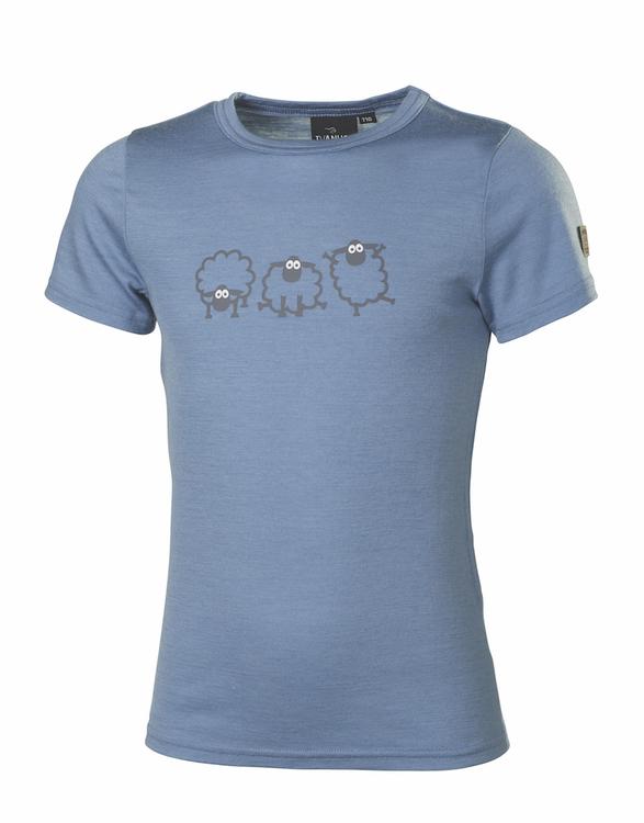 Ivanhoe T-shirt UW jr Jive sheep Blue Shadow