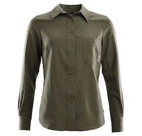 Aclima Skjorta LeisureWool Woven Wool Shirt Woman Ranger Green