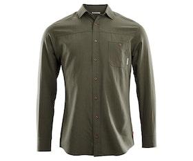 Aclima Skjorta LeisureWool Woven Wool Shirt Man Ranger Green