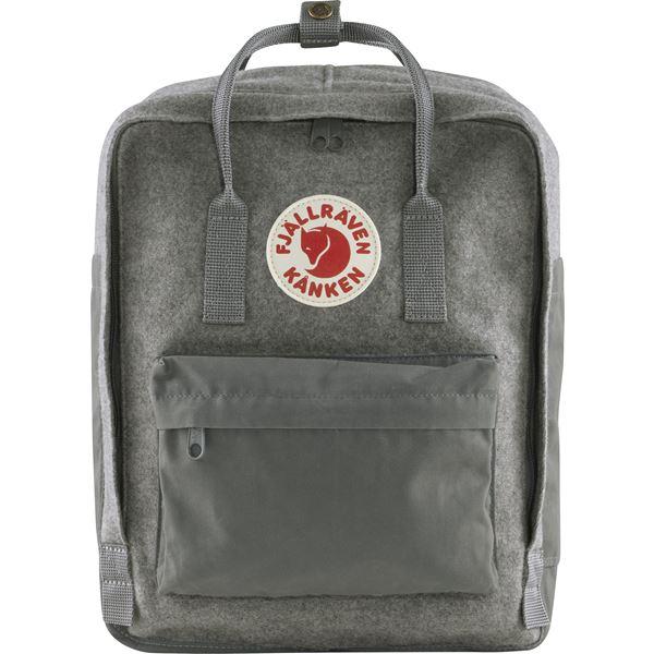 Fjällräven Väska Kånken Re-Wool Granite Grey