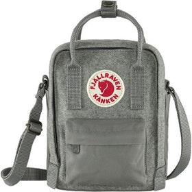 Fjällräven Väska Kånken Re-Wool Sling Granite Grey