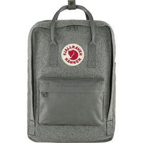 "Fjällräven Väska Kånken Re-Wool Laptop 15"" Granite Grey"
