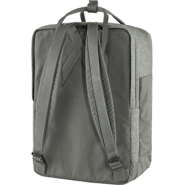 """Fjällräven Väska Kånken Re-Wool Laptop 15"""" Granite Grey"""