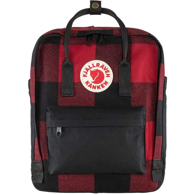 Fjällräven Väska Kånken Re-Wool Red-Black