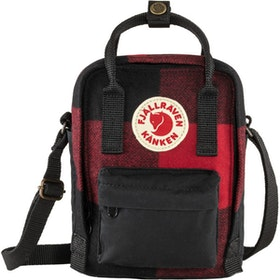 Fjällräven Väska Kånken Re-Wool Sling Red-Black