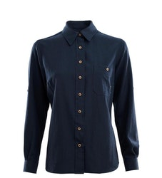 Aclima Skjorta LeisureWool Woven Wool Shirt W Navy Blazer