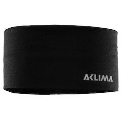 Aclima Pannband LightWool Headband Jet Black