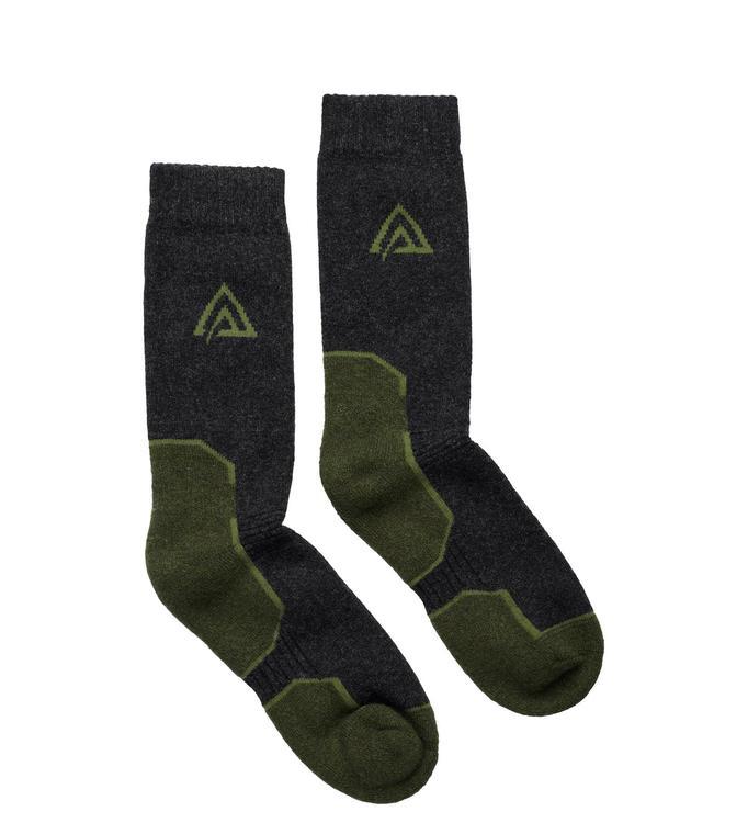 Aclima Sockar WarmWool Socks Olive Night/Dill/Marengo