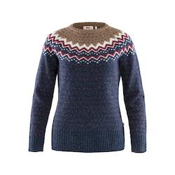 Fjällräven Tröja Övik Knit Sweater W Navy