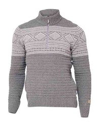 Ivanhoe Tröja Mattis half zip Grey