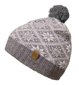 Ivanhoe Mössa Snowflake Hat Grey Marl