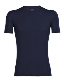 Icebreaker T-shirt Anatomica SS Crewe M - Midnight Navy
