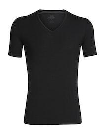 Icebreaker T-shirt Anatomica SS V Black