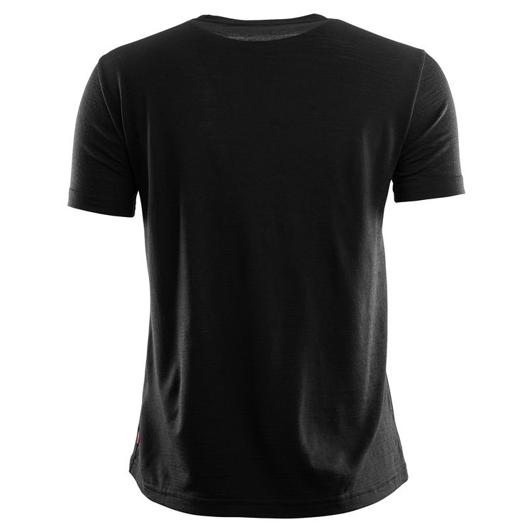 Aclima AC T-shirt LightWool T-shirt Loose Fit W Jet Black