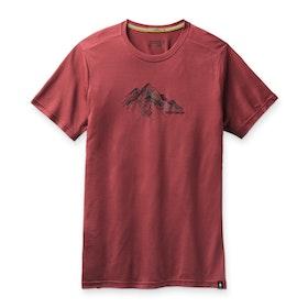 Smartwool T-shirt Men´s Merino Sport 150 Rocky Range Graphic Tee Masala