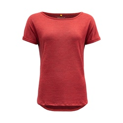 Devold of Norway T-shirt Trollstigen Woman Top Poppy