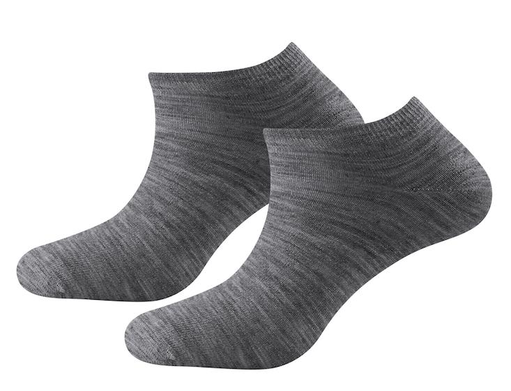 Devold of Norway Sockar Daily Shorty Sock 2P Grey Melange
