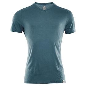 Aclima LightWool T-shirt V-neck Man Tapestry