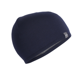 Icebreaker Mössa Pocket Hat  Midnight Navy/Gritstone HTHR