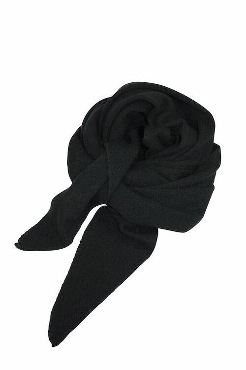 Mathlau Halsduk Scarf Lambswool -Black