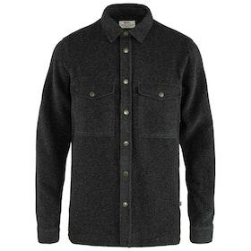 Fjällräven Skjorta Canada Shirt Solid M Dark Grey