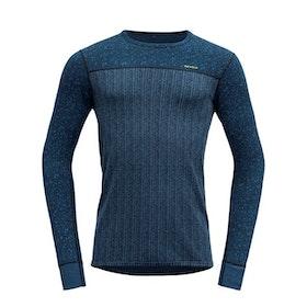 Devold of Norway Underställströja Kvitegga Man Shirt Blue