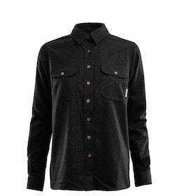 Aclima Skjorta LeisureWool ReBorn Wool Shirt W Dark Grey Melange